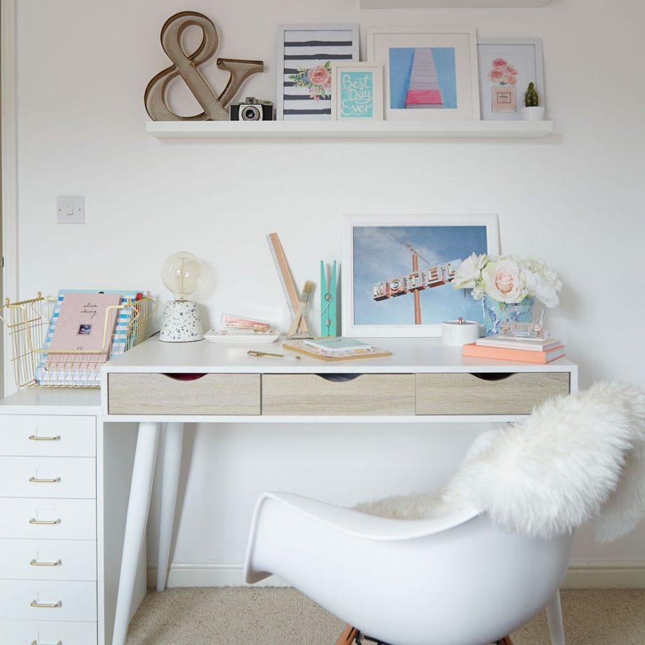 Birou dormitor - Sugestie de prezentare