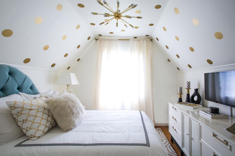Dormitor ordonat - Sugestie de prezentare