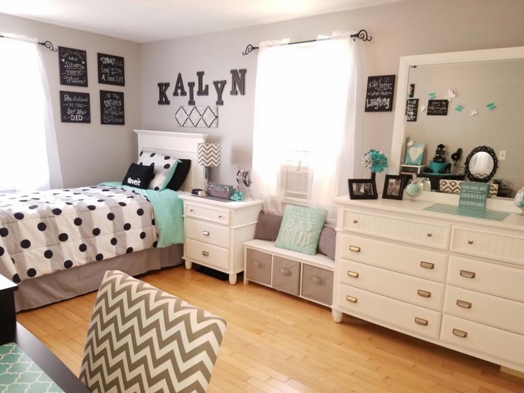 Culoare pereti dormitor pentru adolescenti - Sugestie de prezentare