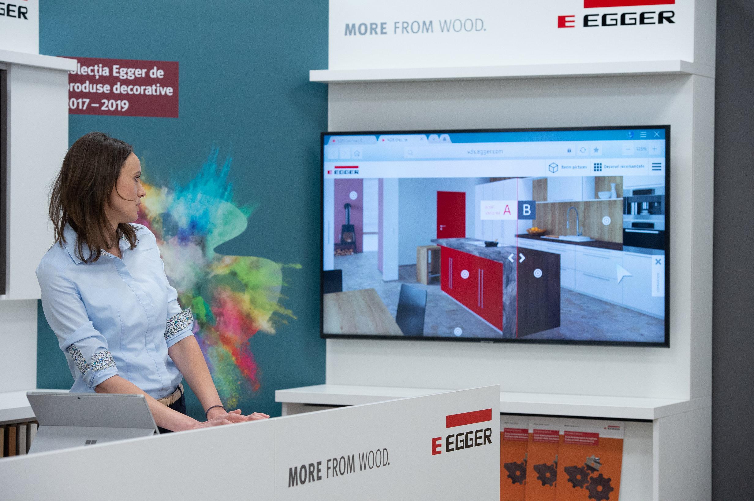 Prezentarea aplicatiei dezvoltata de Egger