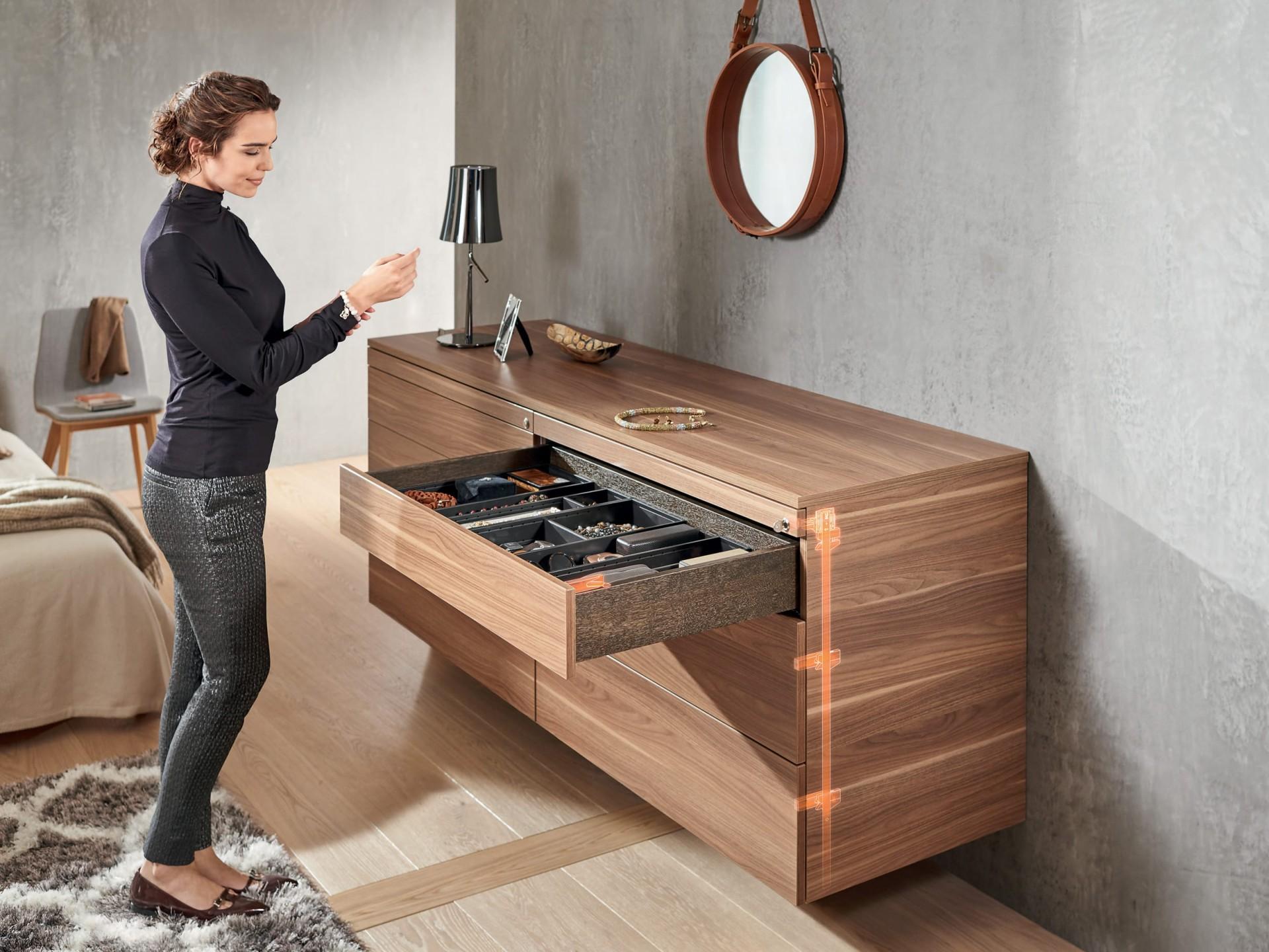 Dormitoare moderne - Sistemul Cabloxx