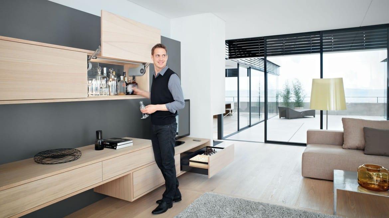AVENTOS HL, sistemul de ridicare modern potrivit pentru living